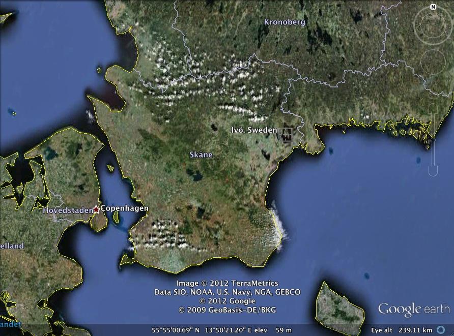 Sweden Map Google Earth - Sweden map google