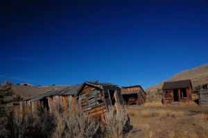 The ruins of the mining town of Bannack, Montana. Photo by archaeological comrade Brian Herbel of Missoula, Montana.
