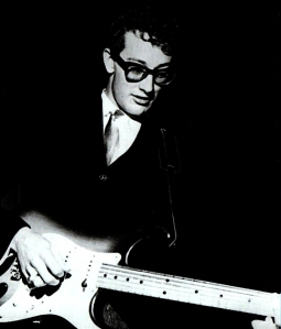 Buddy Holly in the 1950s.
