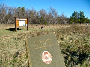 Sometimes folks go to the Elkhorn to read about the Elkhorn. Photo from September 2012.