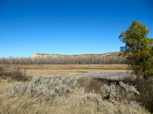 A view of the Elkhorn Ranch landscape from October 6, 2012.