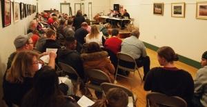 The US-Dakota War Panel Discussion from April 5, 2013, in Ellendale, North Dakota.