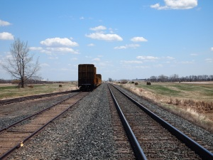 A potential railroad metaphor for the various and competing tracks of time cultures and societies are hurtling along. This, we historians argue, is why world history is increasingly important in our increasingly global age.