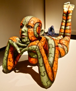 Sculptures by Guillermo Guardia.