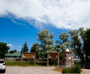 A photo from a July 15, 2013 visit to the Bear River Massacre site.