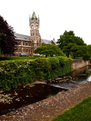 A section of the University of Otago campus.