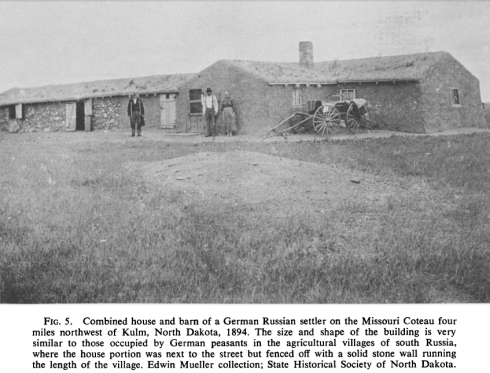 1894 Sod House Kulm, ND