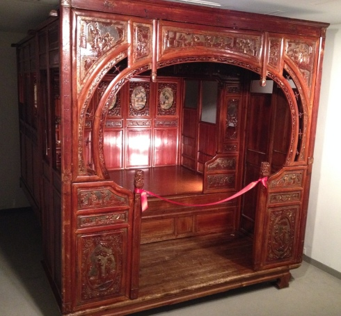 An opium bed Barton purchased and had in his flat. This is now on display at the ND Museum of Art in Grand Forks, North Dakota.