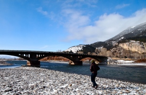 A short walk along the Yellowstone River in Paradise Valley, just south of Livingston, Montana.