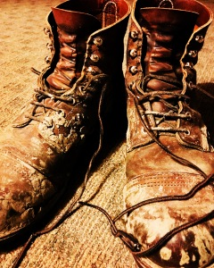 Boots and LBH River Mud